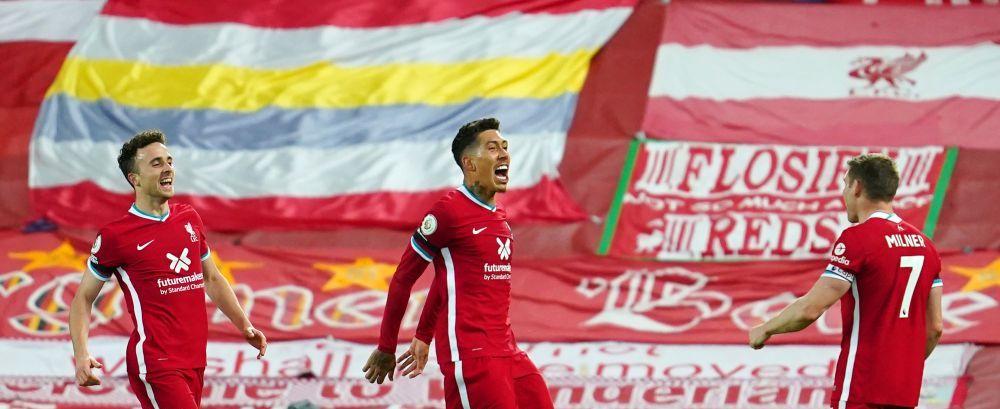 Liverpool a ajuns la 64 de meciuri consecutive in Premier League pe teren propriu fara infrangere! Campioana Angliei a depasit un record vechi de 40 de ani