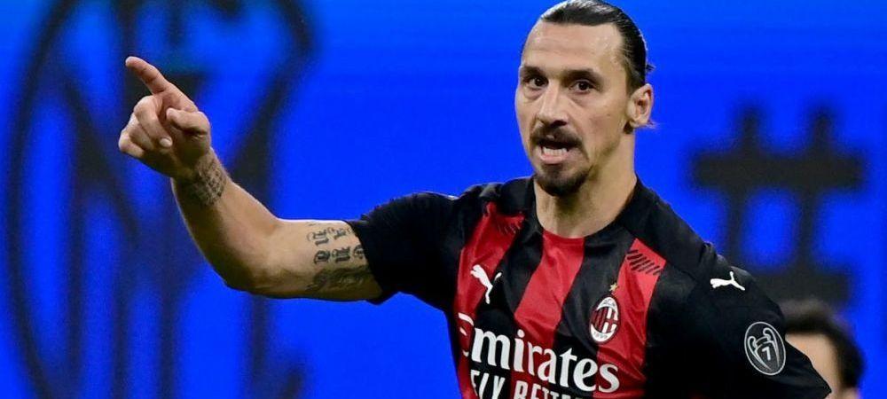 Dovada ca Zlatan e om :) Cate ore a petrecut suedezul in baza de antrenament a lui AC Milan pentru a se recupera