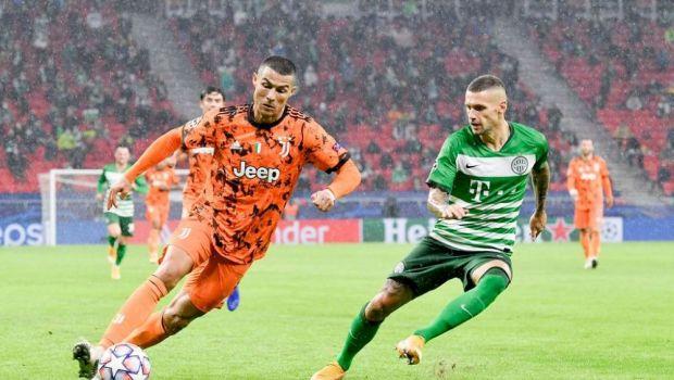 Nu s-a aflat pana acum! Episod SOCANT cu Ronaldo dupa meciul cu Ferencvaros, castigat de Juve cu 4-1! Ce a facut cand un adversar s-a dus sa ii ceara tricoul