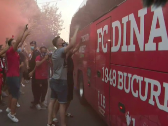 EXCLUSIV | Ultrasii mascati l-ar fi asteptat pe seful lui Dinamo in fata CAMEREI DE HOTEL si l-ar fi amenintat! Momente incredibile in HAOSUL de la Dinamo