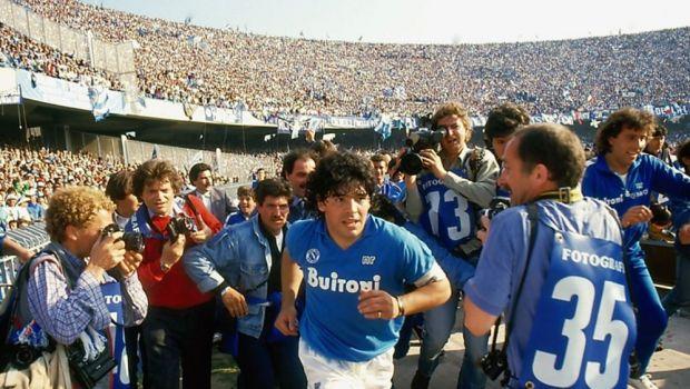 """Dezvaluiri incredibile despre perioada petrecuta de Maradona in Italia: """"Napoli era orasul lui! Daca voia sa intre cu avionul plin de droguri, intra!"""""""