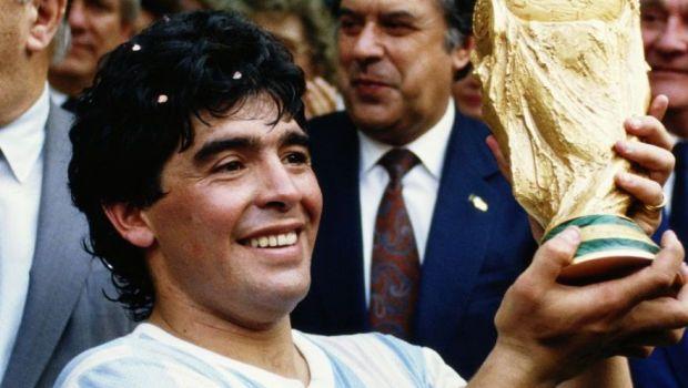"""Ce scrie presa internationala despre moartea lui Diego Maradona! """"Acum e in mainile lui Dumnezeu!"""" Englezii nu au uitat de momentul semifinalei din 1986!"""