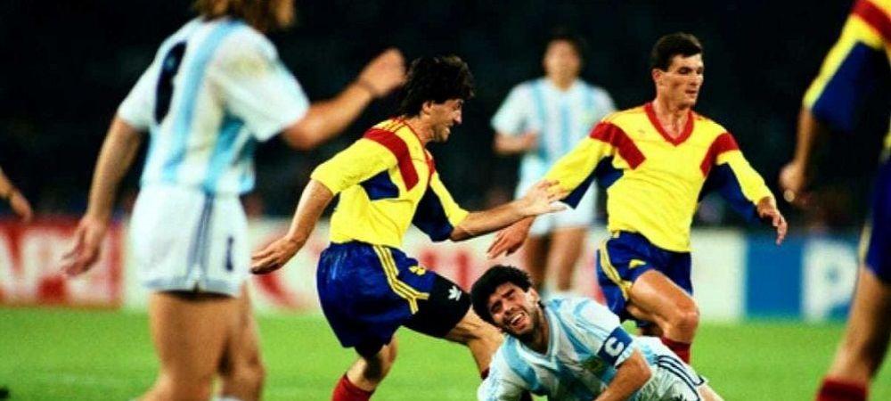 """""""A fost cel mai mare, un talent iesit din comun!"""" Iosif Rotariu, devastat de moartea lui Maradona! Amintiri de la CM 1990: ce a facut D10S dupa egalul cu Romania"""