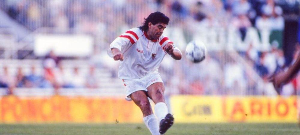"""Amintirile savuroase a lui Giovanni Becali cu Maradona: """"L-am cunoscut la Sevilla. M-a impins ca mi-am adus aminte de meciul Argentina - Romania"""""""