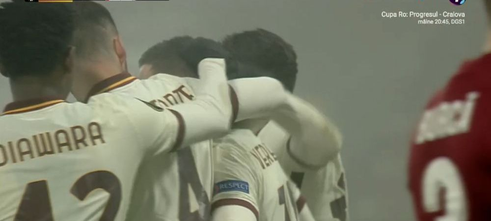CFR Cluj, tot mai departe de primavara europeana! Campioana, INVINSA de Roma cu un autogol si un penalty inventat! Aici tot ce s-a intamplat in CFR Cluj 0-2 Roma