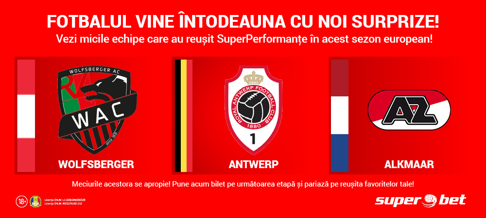 (P) Micile echipe iau cu asalt Europa! Vezi SuperSuprizele acestui sezon și ce șanse au acestea să se califice!