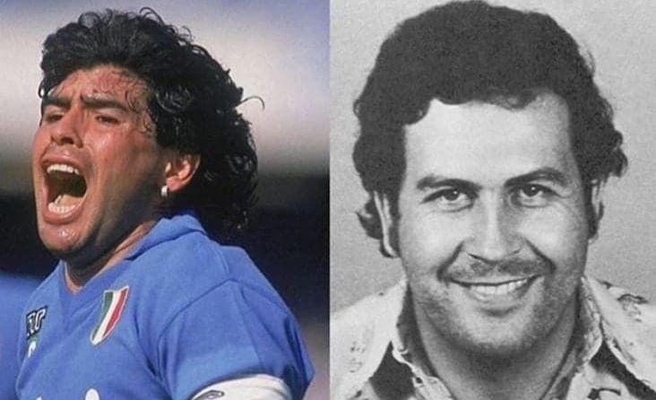 Maradona a fost invitatul special la o petrecere de-a lui Pablo Escobar! Unde a avut loc celebra intalnire dintre cei doi