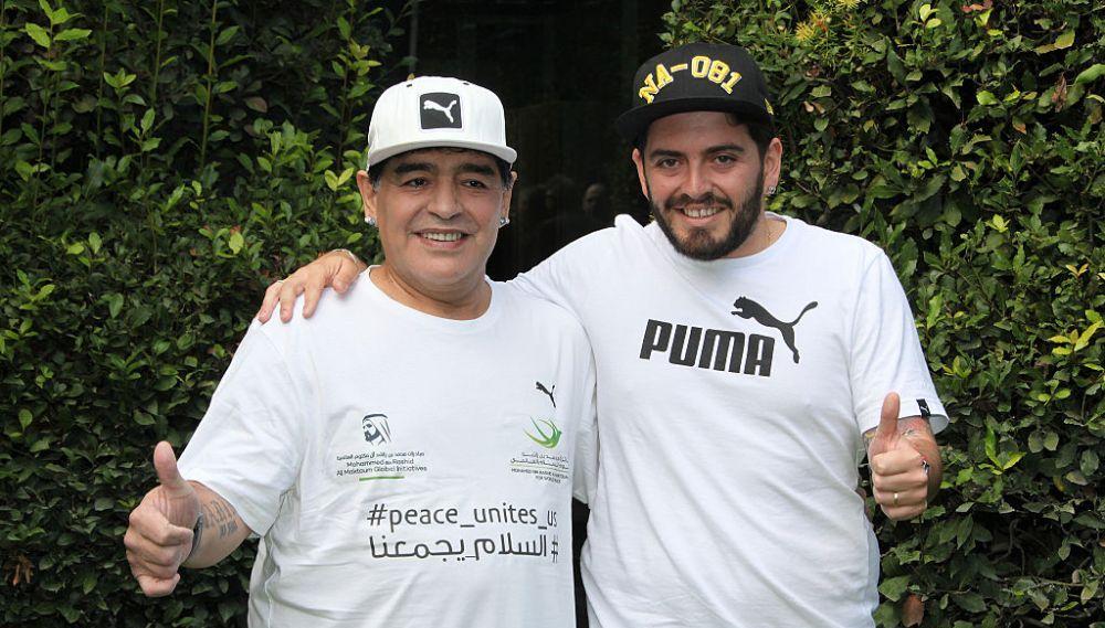 Primul mesaj al fiului lui Maradona dupa ce a aflat ca tatal sau a murit: