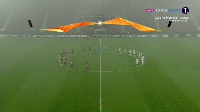 Moment de reculegere pentru Maradona la Cluj. Omagiu din partea ambelor echipa inainte de CFR - AS Roma