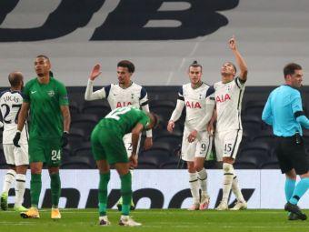 Spectacol al echipei lui Mourinho in fata romanilor: Tottenham 4-0 Ludogorets | Slavia s-a impus cu 3-1 la Nice! | Patru echipe s-au calificat in primavara europeana