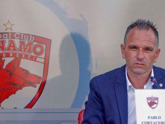 O noua promisiune marca Pablo Cortacero! INCREDIBIL de unde ar urma sa aduca 1,5 milioane de euro la Dinamo pana pe 2 decembrie