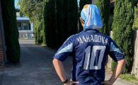 Cel mai ORIGINAL omagiu adus lui Maradona! Ce a facut un argentinian inspirat de golurile lui D10S