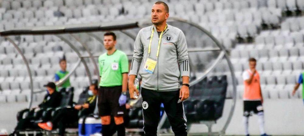 """""""SMURD"""" pentru """"U"""" Cluj?Gigi Multescu ar putea prelua echipa clujeana, in cazul unui nou esec"""