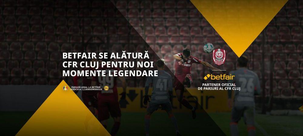 (P)Betfair face echipă cu CFR Cluj cel puțin 3 sezoane pentru noi #MomenteLegendare