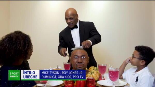 Tyson arata ca la 20 de ani si face glume tot ca atunci! Revenirea lui Tyson in ring se vede pe PRO TV, duminica de la 04:00
