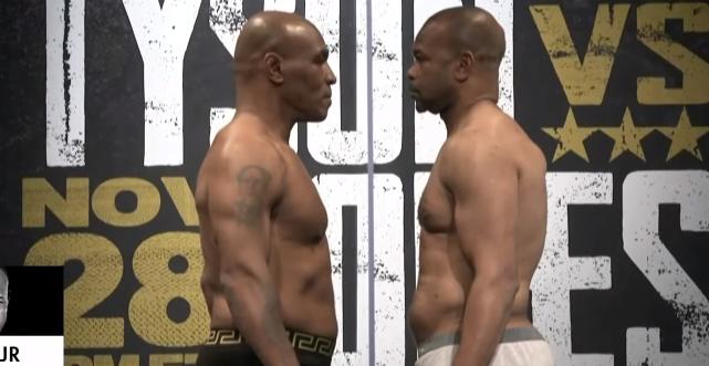 SHOW FANTASTIC intre Tyson si Roy Jones Jr.! MECI MONDIAL la revenirea lui Mike dupa 15 ani: EGALITATE! VIDEO IMEDIAT pe www.sport.ro