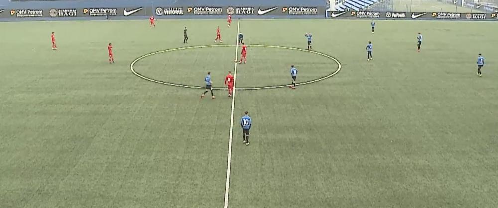 Victorie la SCOR pentru Viitorul in fata FCSB-ului in Liga Elitelor U19! Perianu si Octavian Popescu au jucat pentru ros-albastri