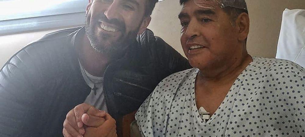 Maradona, URLETE SI NERVI in ultima discutie cu doctorul personal! L-a dat afara din casa! Detalii socante