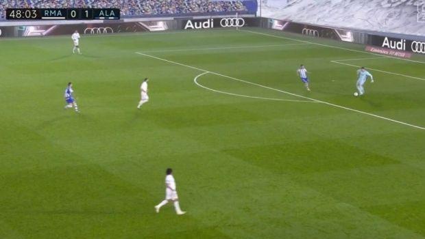 Gafa de Liga a 3-a facuta de Courtois! Cum a decis soarta meciului cu Alaves. Record NEGATIV stabilit de portarul lui Real Madrid in La Liga