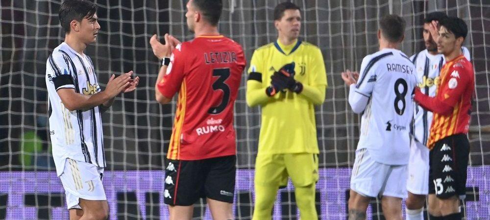 """Momente pline de emotii in meciul dintre Benevento si Juventus! Aplauze, """"AD10S Diego"""" si un gol dedicat lui Maradona!"""