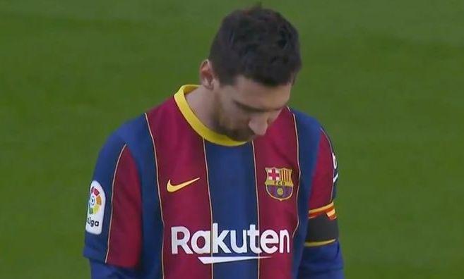 Messi, cu ochii in lacrimi la momentul de reculegere pentru Maradona! Catalanii au avut un mesaj special pentru Diego