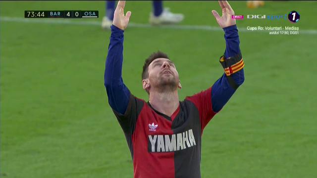 Galben si 3000 de euro amenda dupa gestul ISTORIC al lui Messi in onoarea lui Maradona! Omagiul lui Leo face inconjurul planetei