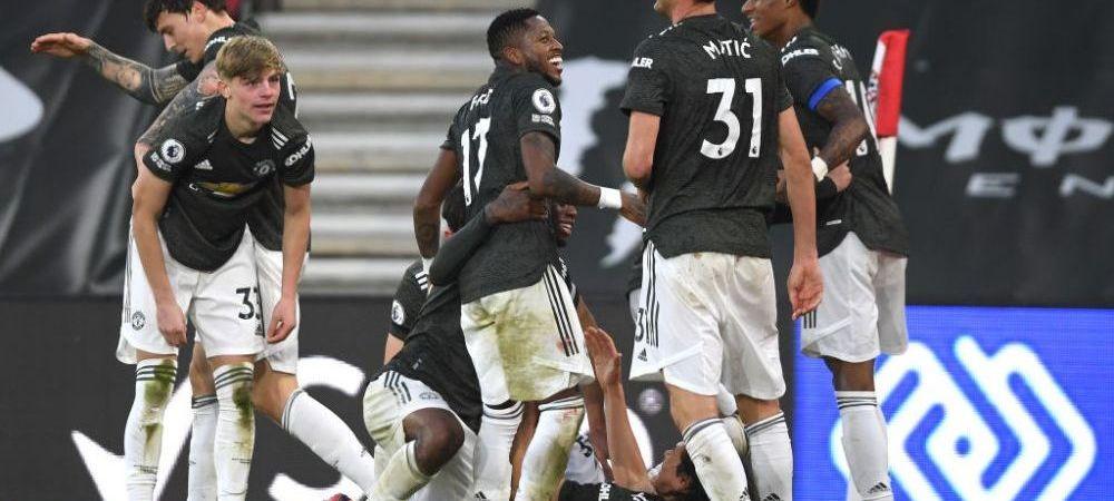 "Meci de infarct in Premier League! Manchester United a revenit de la 0-2 si a castigat in prelungirile partidei! Cavani, ""dubla"" pentru echipa lui Solskjaer"