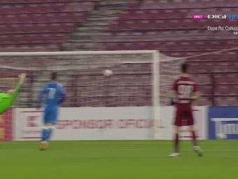 VIDEO| BIJUTERIEEEEE! Calcan, GOL MONDIAL cu CFR in Cupa Romaniei! Pancu a aplaudat secunde in sir!
