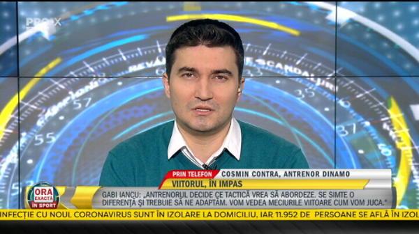 "EXCLUSIV | ""Ruptura e totala! Sa se uite in dictionar ce inseamna loialitatea!"" Dezvaluirile lui Cosmin Contra despre situatia de la Dinamo"