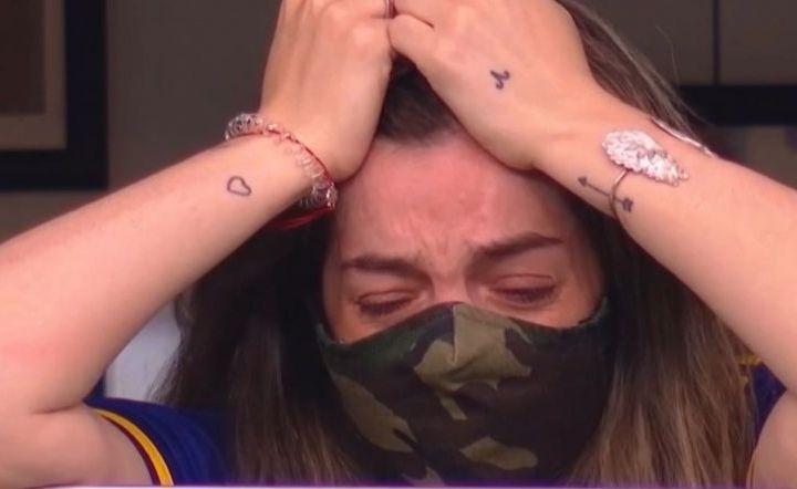 Fiica lui Maradona, in lacrimi la meciul Bocai Juniors! Fotbalistii s-au dus spre tribuna si i-au dedicat golul