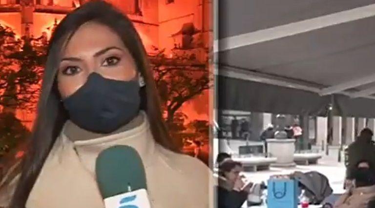 VIDEO Nimeni n-a inteles ce s-a intamplat! Jurnalista care a intrat in PANICA din senin si a DISPARUT din cadru. Ultimele sale cuvinte