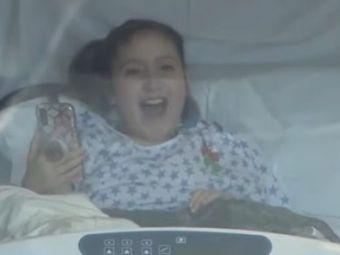 VIDEO Surpriza pentru fetita de 11 ani care a trecut prin 47 de operatii. Ce s-a intamplat la a 48-a interventie