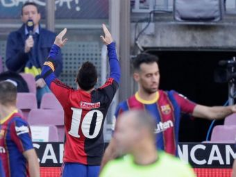 Messi si-a aflat PEDEAPSA primita dupa OMAGIUL pentru Maradona cu care a emotionat toata planeta! Cat trebuie sa plateasca Barcelona