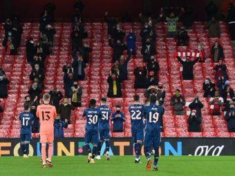 Momentul pe care englezii il asteapta de 9 luni!Fanii au revenit in sfarsit pe stadion la meciul lui Arsenal cu Rapid Viena!