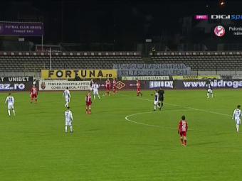 VIDEO: GOOOOOL MONDIAL pentru Dinamo! Faza care face acum inconjurul lumii! Juan Camara a marcat FABULOS de la centrul terenului