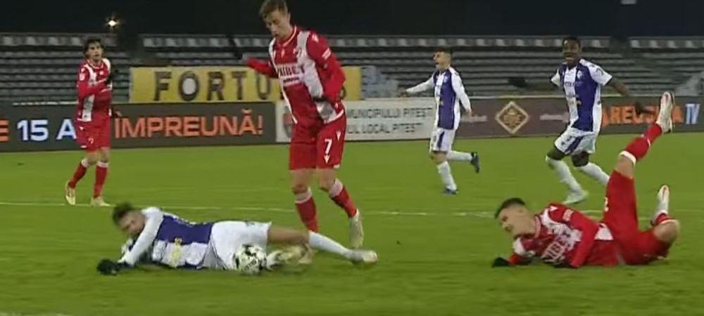 """Am explicatii, dar n-am probe!"" Craciunescu s-a uitat la faza si nu i-a venit sa creada! Ce spune despre penalty-ul neacordat in prelungiri la FC Arges - Dinamo"
