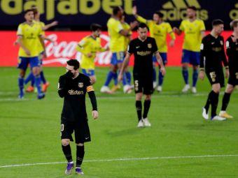 Dupa Real Madrid, nou-promovata Cadiz a SCUFUNDAT-O si pe Barcelona! Inca o INFRANGERE pentru Koeman! Catalanii sunt pe 7 in La Liga
