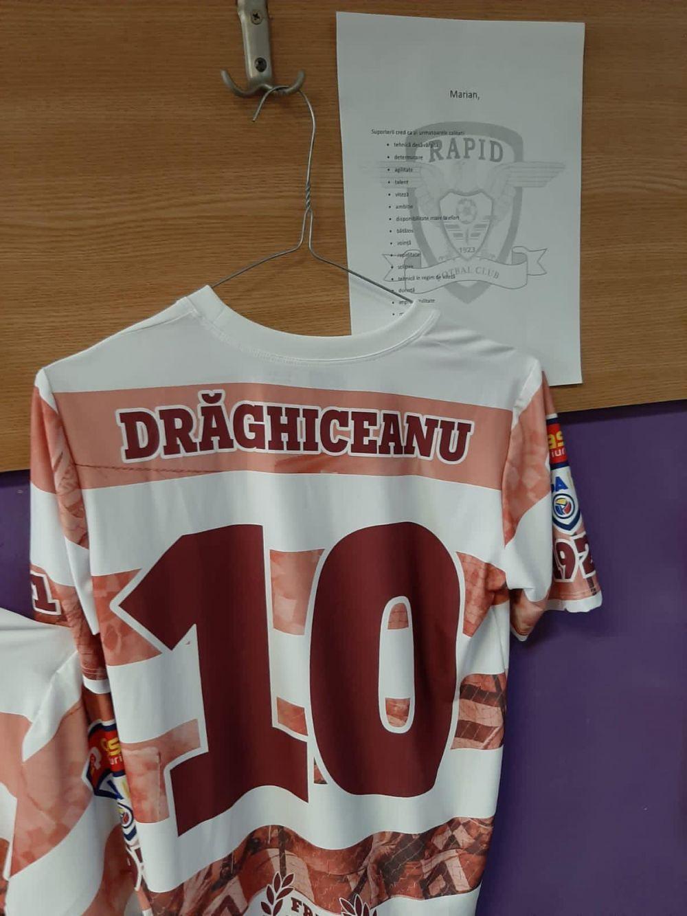 Suporterii Rapidului, aproape de echipa inaintea derby-ului cu Poli Timisoara! Ce mesaje au aparut in vestiarul giulestenilor