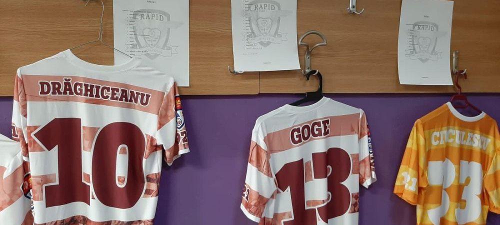 Suporterii Rapidului, aproape de echipa inaintea derby-ului cu ASU Poli Timisoara! Ce mesaje au aparut in vestiarul giulestenilor