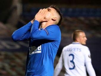 Ianis, din nou rezerva in echipa lui Gerrard! Hagi a jucat doar 15 minute in victoria cu 4-0 a lui Rangers din campionat
