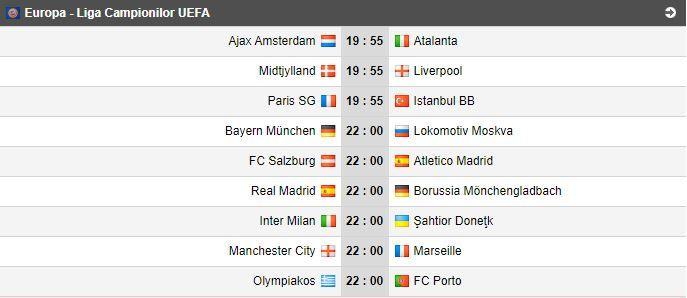 PSG 0-0 Basaksehir, LIVE TEXT, de la 19:55 | Mbappe si Neymar, din nou in actiune pentru prima pozitie din grupa! Real Madrid - Gladbach, duel de totul sau nimic, de la 22:00