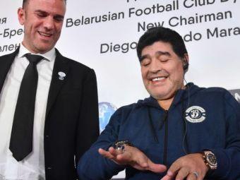 Cea mai scumpa BIJUTERIE a lui Maradona! Povestea INELULUI CU DIAMANTE care valoreaza cat un Ferrari