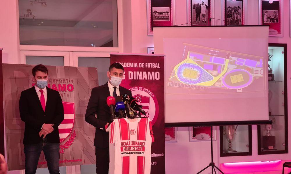 Primele imagini cu Danciulescu la CS Dinamo! Ce functie va avea fostul director sportiv al 'cainilor'
