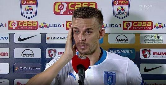 """Bancu, reactie surprinzatoare dupa infrangerea cu FCSB: """"Am dominat meciul!"""" De ce crede ca au pierdut oltenii"""