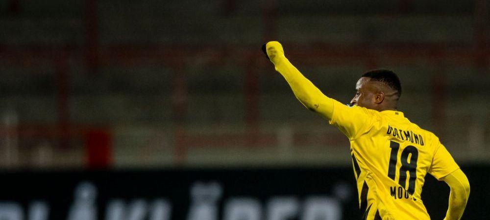 VIDEO | Moment istoric in Bundesliga! Moukoko a devenit cel mai tanar marcator din istoria campionatului Germaniei!