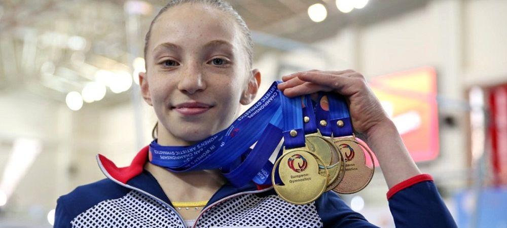 6 medalii de AUR pentru Romania! Performanta ULUITOARE a unei gimnaste de doar 14 ani, prezenta in premiera la Campionatul European