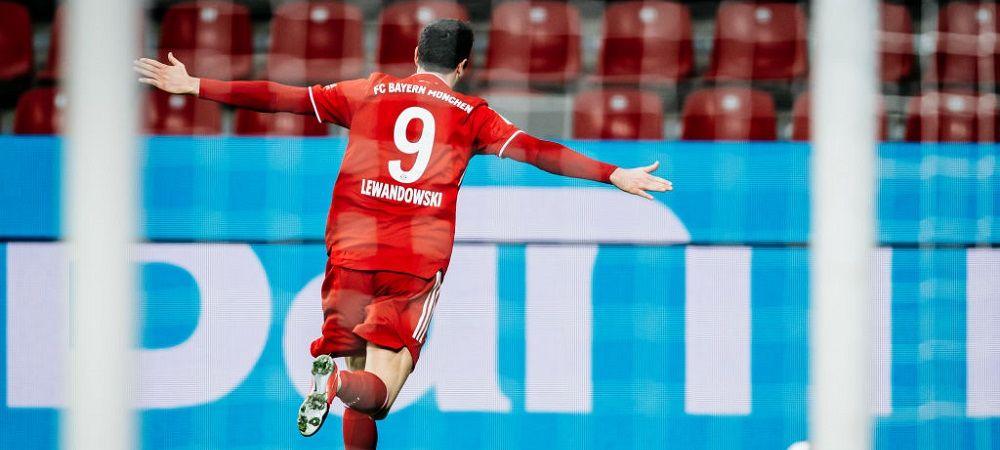 Lewandowski, lider in topul golgeterilor din cele mai tari campionate ale Europei! Dennis Man ar fi fost pe podium la egalitate cu Ronaldo! Cum arata clasamentul
