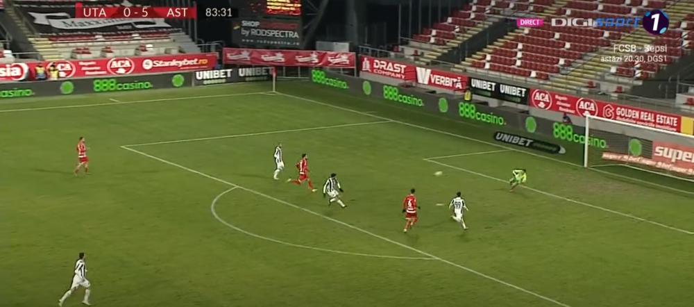 Astra e 'Liverpool de Romania'! MACEL TOTAL in deplasarea cu UTA Arad! Hattrick pentru Budescu in meciul cu cele mai multe goluri din etapa. Aici vezi tot ce s-a intamplat in UTA 0-6 Astra