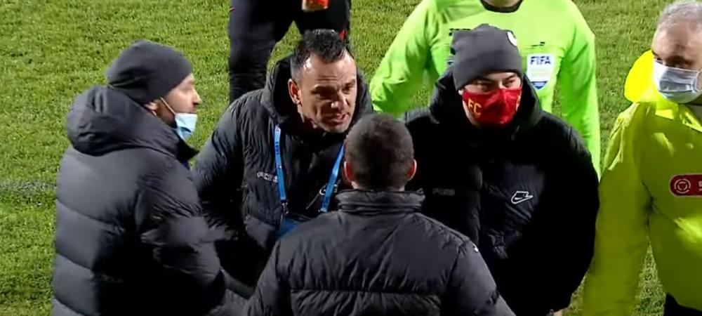 """Cretu, aproape sa izbucneasca in lacrimi dupa conflictul cu Grozavu: """"A fost mai rau decat injuratura, nu mai vorbesc!"""""""