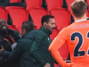 """Ai vrut sa-l lovesti pe Coltescu?"" Reactie de ultima ora a lui Webo in scandalul MONDIAL de la PSG-Basaksehir"